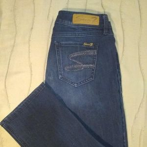 Seven7® Ankle Cropped, Skinny Jeans